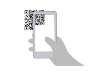 店舗登録用QRをアプリから読み込み登録します